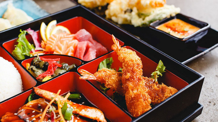 Novelty lunch - London's best sushi boxes for beginners