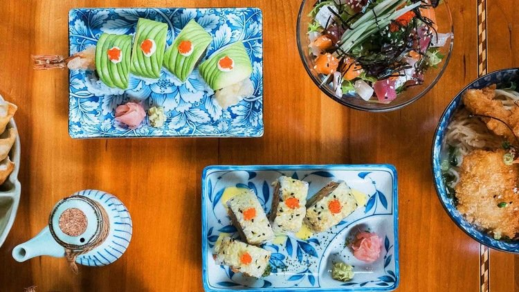 Avocado - the superfood showcased in London's sushi dishes
