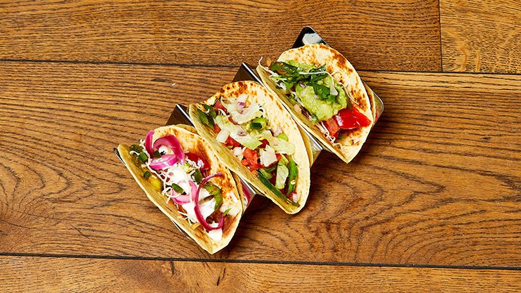 Tackle these tacos for a veggie taste sensation