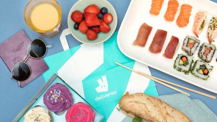 Order Deliveroo to the Park this Summer