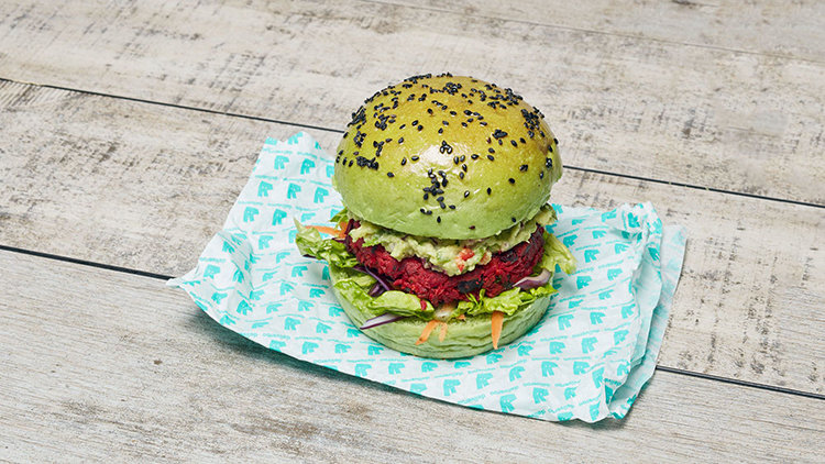 The Tofu Burger and Other Tasty London Vegan Treats
