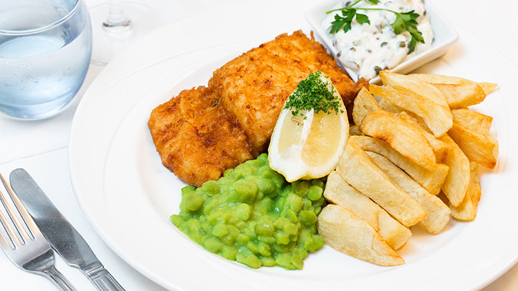 When it Comes to Fish and Chips, We're Serious About Sauce