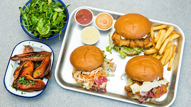 4 Burger Battles Where Chicken and Beef Go Head to Head