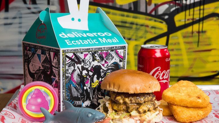 MEATliquor and Deliveroo Present the Ecstatic Meal