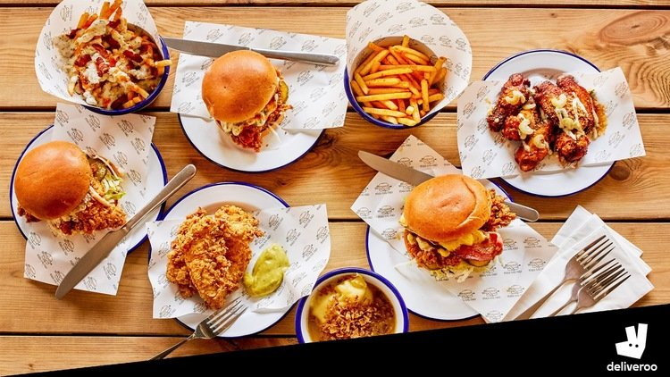 Other Side Fried - Spend £20 on Deliveroo and get free side in restaurant