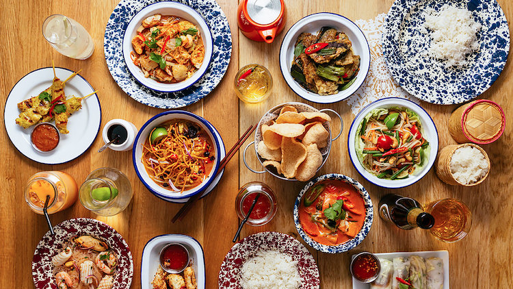 Rosa's Thai Cafe - Enjoy a bottle of house red or white when dining in house