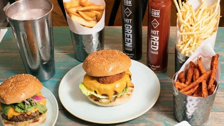 Free Gourmet Burger Kitchen Shakes on Deliveroo