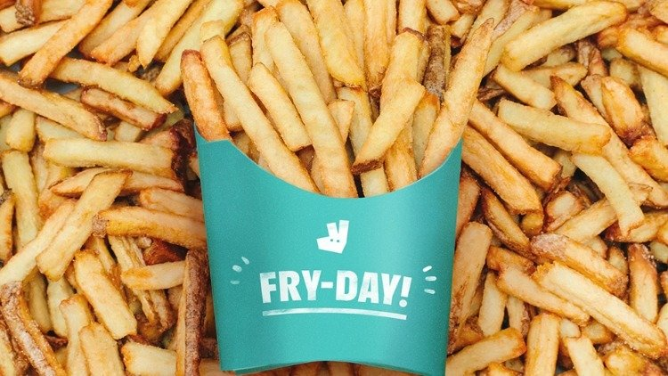 Free Fries Fry-Day on Deliveroo