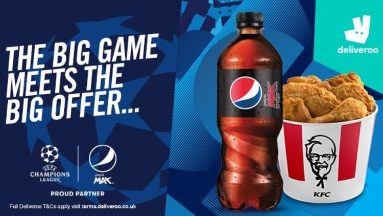 Order a Pepsi on the weekend of the UEFA Champions League Final and get £5 credit