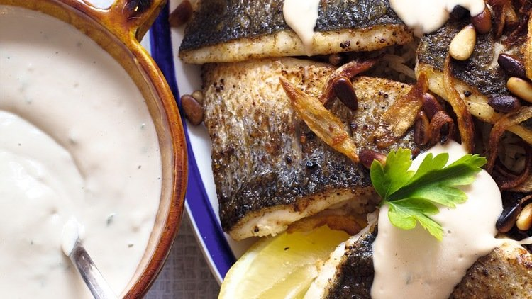 The perfect fried sea bass recipe from Comptoir Libanais
