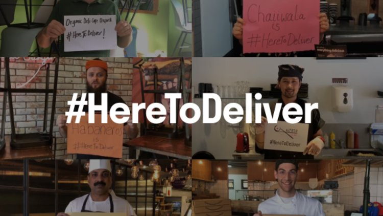 Deliveroo's support to customers, riders, restaurants and the community during the Covid-19 pandemic